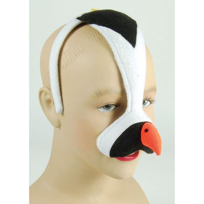 Préférence Masque oiseau pingouin sur bandeau - Achat / Vente accessoire  GB93