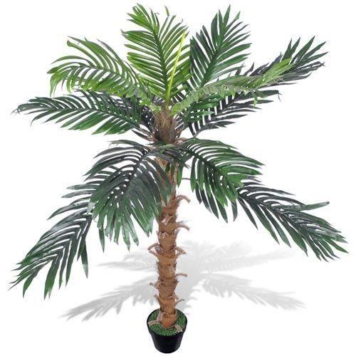 palmier artificiel plastique avec pot 140 cm achat vente fleur artificielle cdiscount. Black Bedroom Furniture Sets. Home Design Ideas