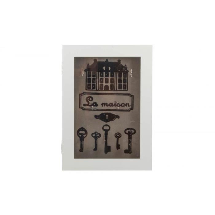 armoire a cle en bois achat vente armoire a cle en bois pas cher cdiscount. Black Bedroom Furniture Sets. Home Design Ideas