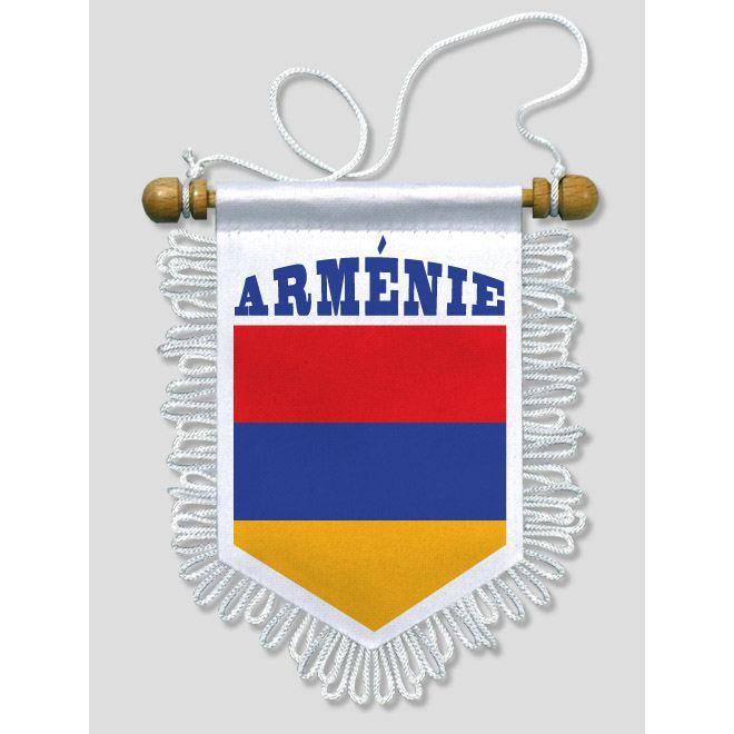 fanion voiture armenie 13 x 15 cm prix pas cher cdiscount. Black Bedroom Furniture Sets. Home Design Ideas