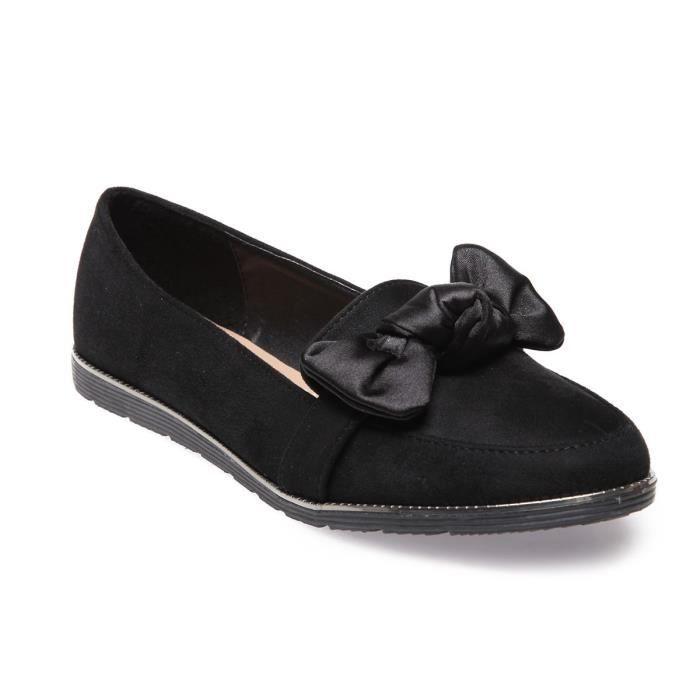 La Modeuse -Mocassins slippers en suédine
