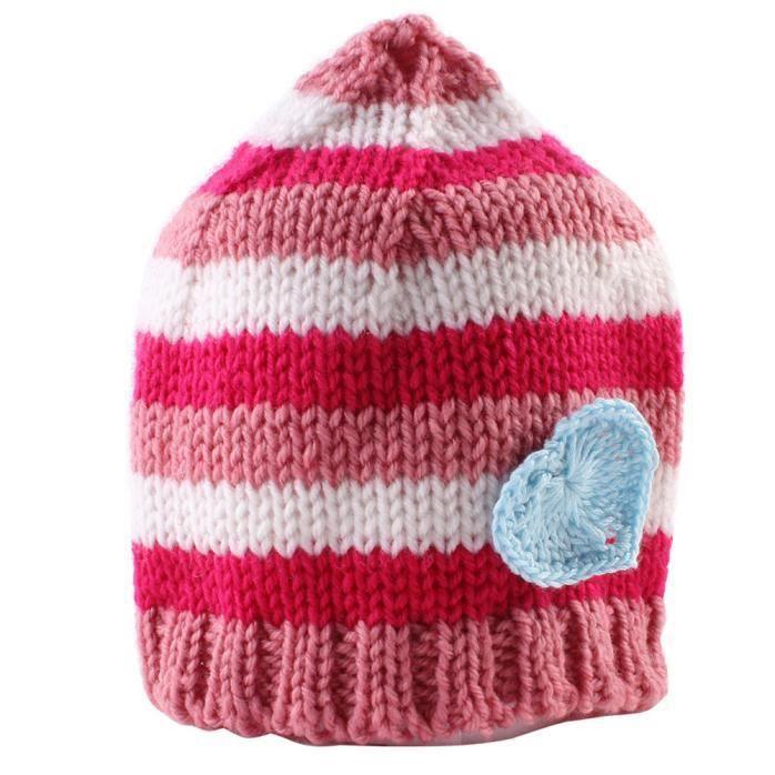 YXP60903643A Nouveau-né bébé fille garçon enfant en bas âge tricoter au Crochet  chapeau doux bonnet c614ff8737b