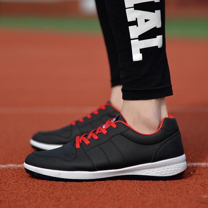 Hommes respirant sport chaussures de course cha...
