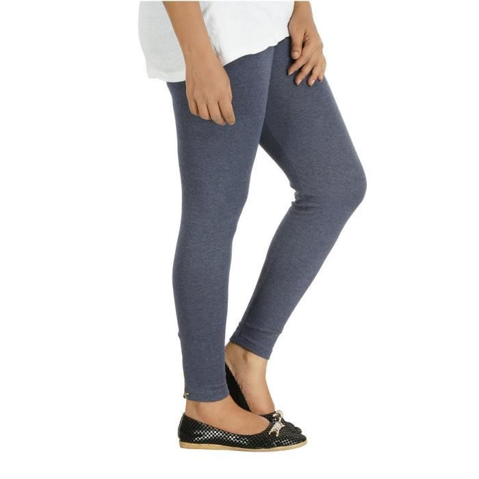 Xrr3k Zip Sfa 38 Leggings Taille Length At Ankle Women's Stretchable pgwRZqaFpx