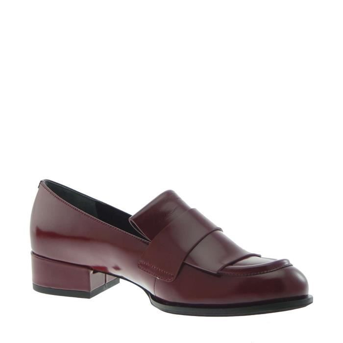 What For Mocassin Femme Red-purple, 40