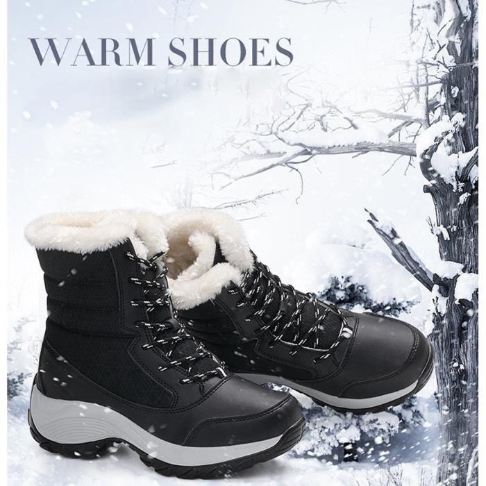 Chaussures courtes Bottes de neige D9DSU Taille-37
