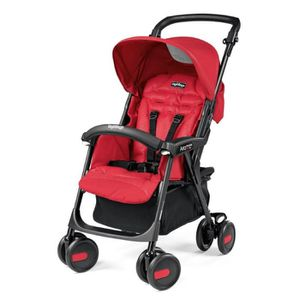 PEG PEREGO Poussette Canne Aria Bloom Red