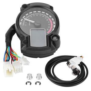 COMPTEUR Compteur de vitesse moto compteur kilométrique LCD