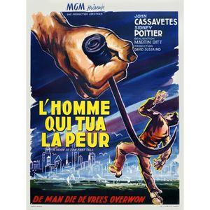 AFFICHE - POSTER HOMME QUI TUA LA PEUR (L') reproduction affiche de