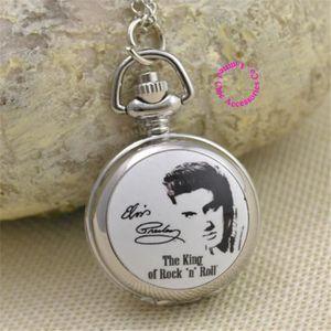 SAUTOIR ET COLLIER L amour de la mode Elvis Presley Pocket Watch Coll 8e4620674c5