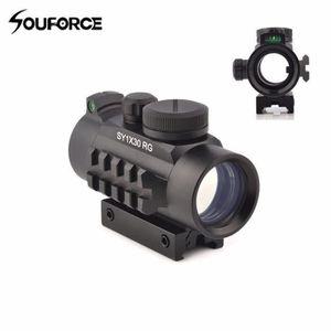 TÉLESCOPE Nouveau viseur optique SY1x30RG laser point vert r