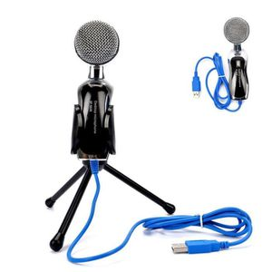 MICROPHONE Son Professionnel USB Microphone Condensateur pour