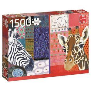 PUZZLE Puzzle 1500 Pièces - EUGEN STROSS, ART AFRICAIN -