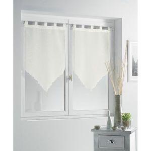 rideaux voilage hauteur 160 cm largeur 90 cm achat vente rideaux voilage hauteur 160 cm. Black Bedroom Furniture Sets. Home Design Ideas