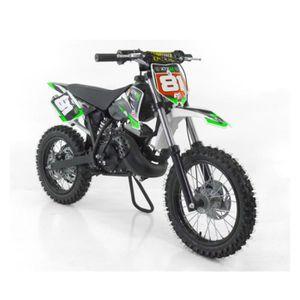 MOTO MOTO CROSS 50cc 12/14 - Vert - sans montage et mis
