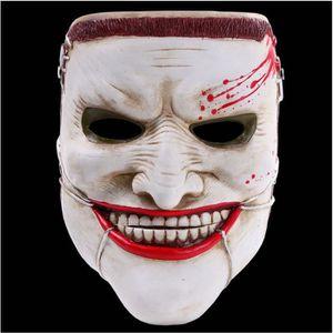 MASQUE - DÉCOR VISAGE Les gens d'horreur Halloween masques Party Party h