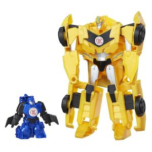 FIGURINE - PERSONNAGE TRANSFORMERS Robots in Disguise - STUNTWING et BUM