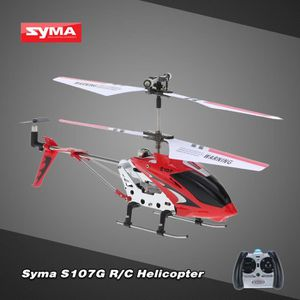 DRONE Syma S107G Mini RC Drone 3 Canaux Infrarouge Hélic