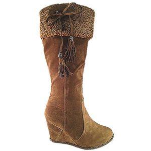 BOTTE Fashionfolie888 - Botte compensée femme chaussure