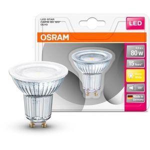 AMPOULE - LED OSRAM Ampoule Spot LED PAR16 GU10 6,9 W équivalent