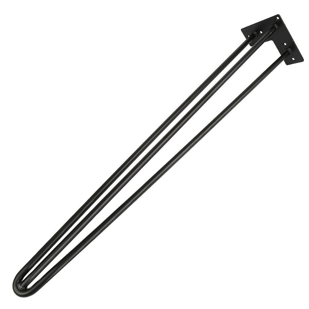 Set 4 Pcs Pieds De Table En Métal Support De Meuble Hairpin Pieds