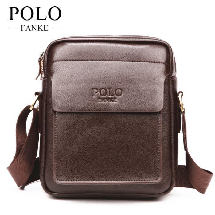sac à main Hommes Mode Hommes Marque PU Sacs en cuir Porte-documents daffaires épaule bandoulière Sacs pour les hommes-160