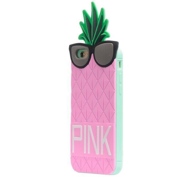 coque iphone 6 silicone ananas