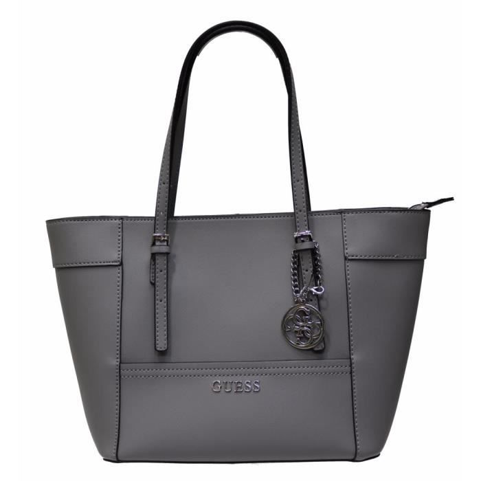 GUESS Sac Delaney Sac cabas Delaney GUESS gris gris cabas pxAwnwY560