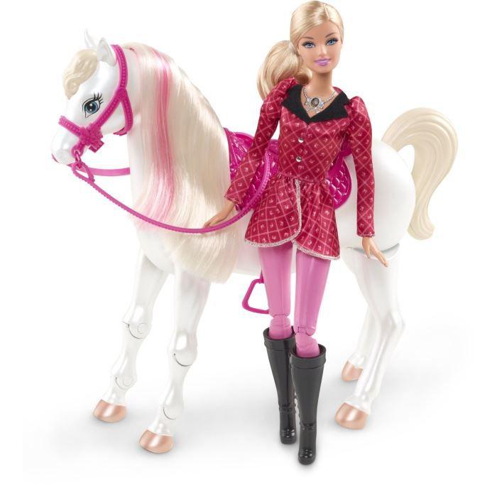 barbie barbie et cheval concours - Barbie Et Le Cheval