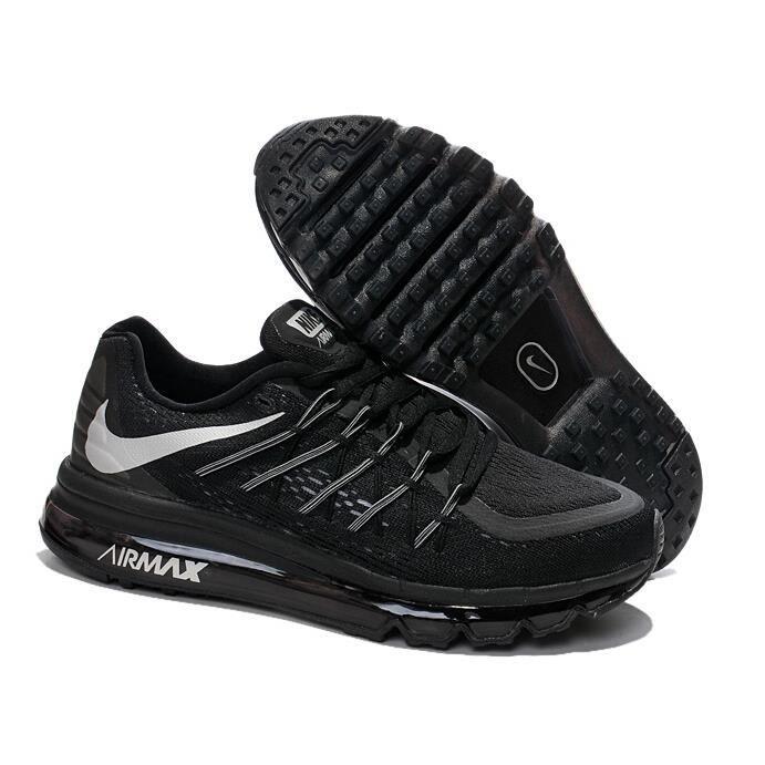 design de qualité dd0c4 4f805 Airmax 2015 gris-noir basket Homme Chaussures Noir TU ...