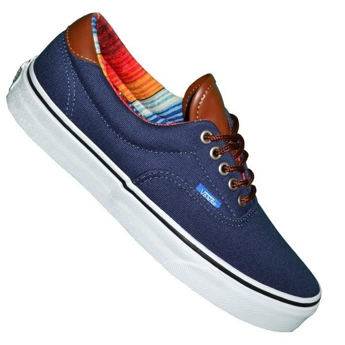 Vans - Basket - Era 59 Off The Wall - Vn0uc6aqu - Dress Blue Multi Stripe jqxAmETAMU