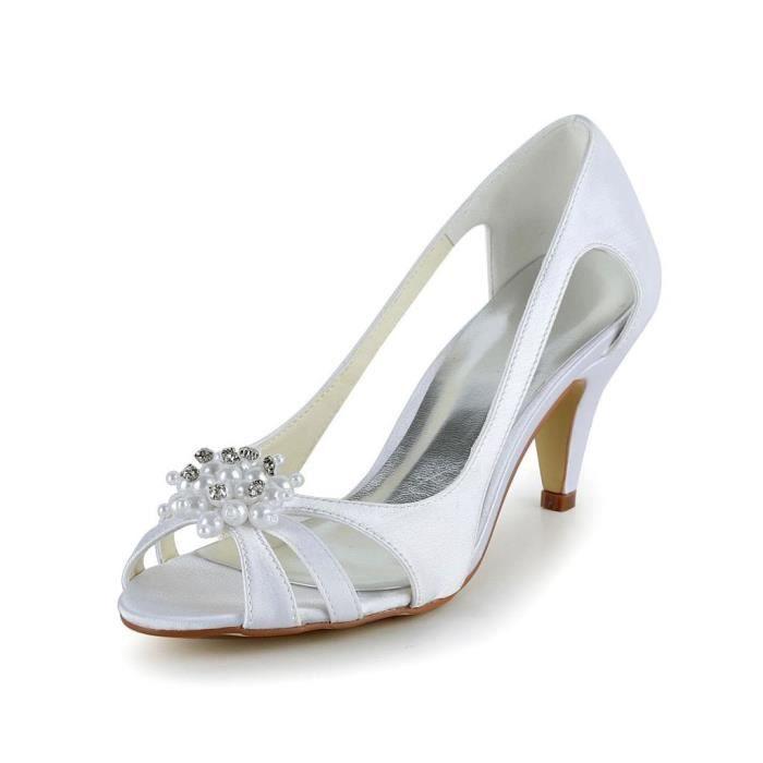 Jia Jia Wedding 5949414A chaussures de mariée mariage Escarpins pour femme