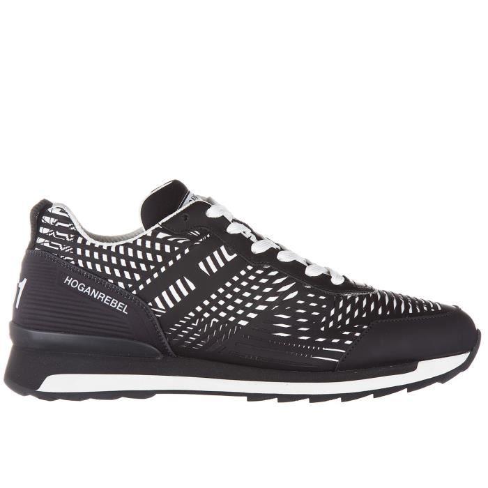 Chaussures baskets sneakers homme en cuir r261 3d Hogan Rebel