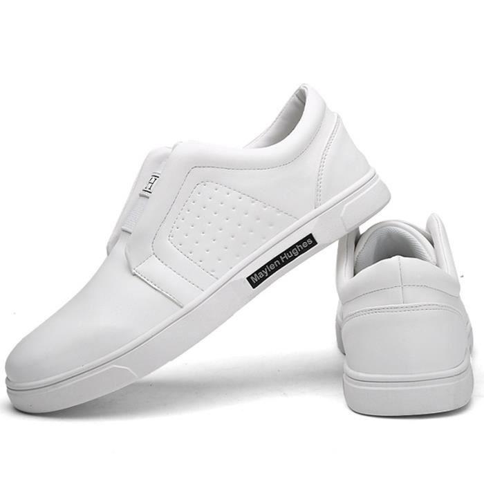 Souliers simple d'homme Mode coréenne Chaussures en cuir de Mocassins N5GWlafnq