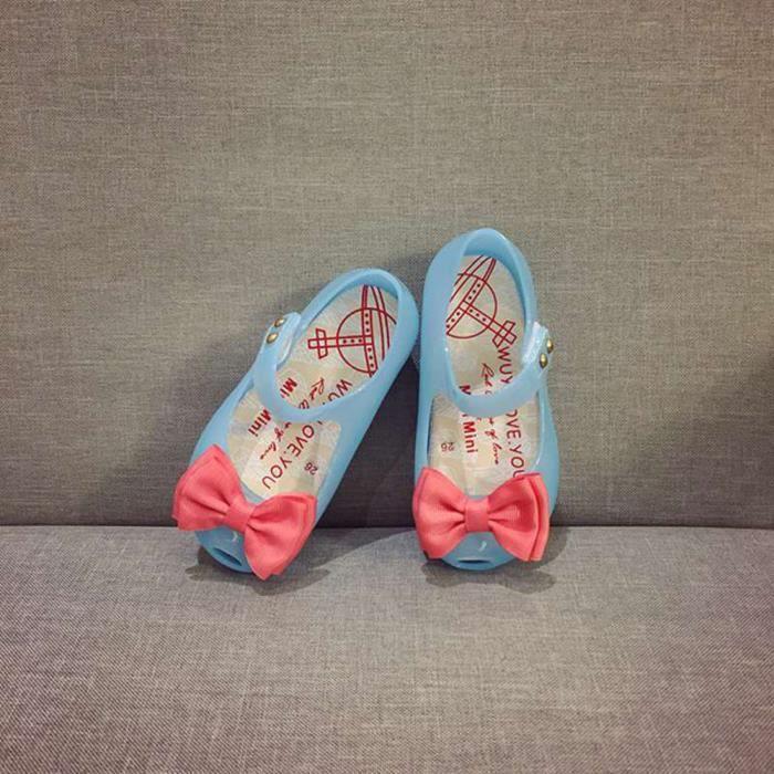 BOTTE Mignon Toddler bébé enfants lumineux gelée sandales allumé chaussures princesse à semelles souples@BleuHM