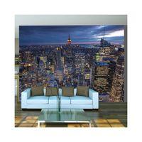 papier peint new york nuit dimension 250x193 achat vente papier peint papier peint new. Black Bedroom Furniture Sets. Home Design Ideas