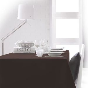 nappe marron achat vente nappe marron pas cher. Black Bedroom Furniture Sets. Home Design Ideas