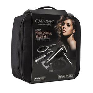 SÈCHE-CHEVEUX Carmen C80015 Noir 2200 W Sèche-cheveux profession