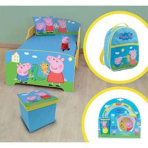 CHAMBRE COMPLÈTE BÉBÉ PEPPA PIG Pack chambre complète - 6 éléments