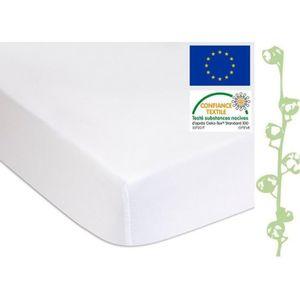 PROTECTION MATELAS  Alèse éponge Coton Bio + PU - lit une place 90x190