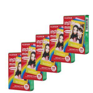 PELLICULE PHOTO Fujifilm Instax Mini Film multicolore 50  films po