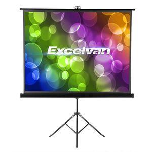 ECRAN DE PROJECTION Excelvan Ecran de Projection Portable 120 pouces 1
