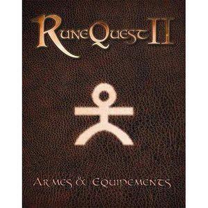JEU SOCIÉTÉ - PLATEAU Runequest 2 - Armes et Equipements
