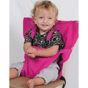 CHAISE HAUTE  Chaise haute bébé Chaise de voyage bébé pliable RO