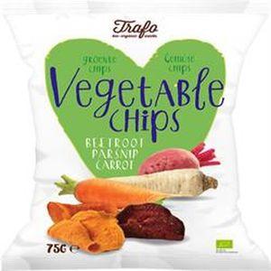 CHIPS Trafo Croustilles de légumes biologiques 75g