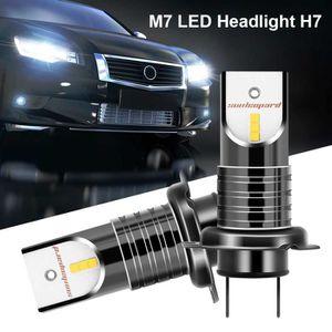PHARES - OPTIQUES M7 H7 LED Kit De Conversion Phare Voiture Conduite
