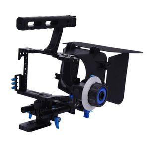 STABILISATEUR Stabilisateur DSLR Caméra Cage avec boîte Matte (B