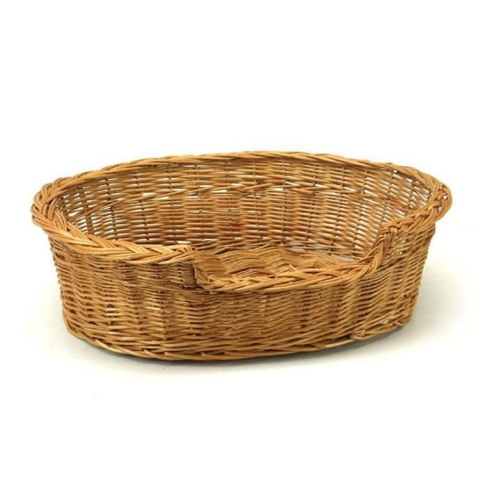 Extra Large Willow Chien Chat Panier D'osier Pet