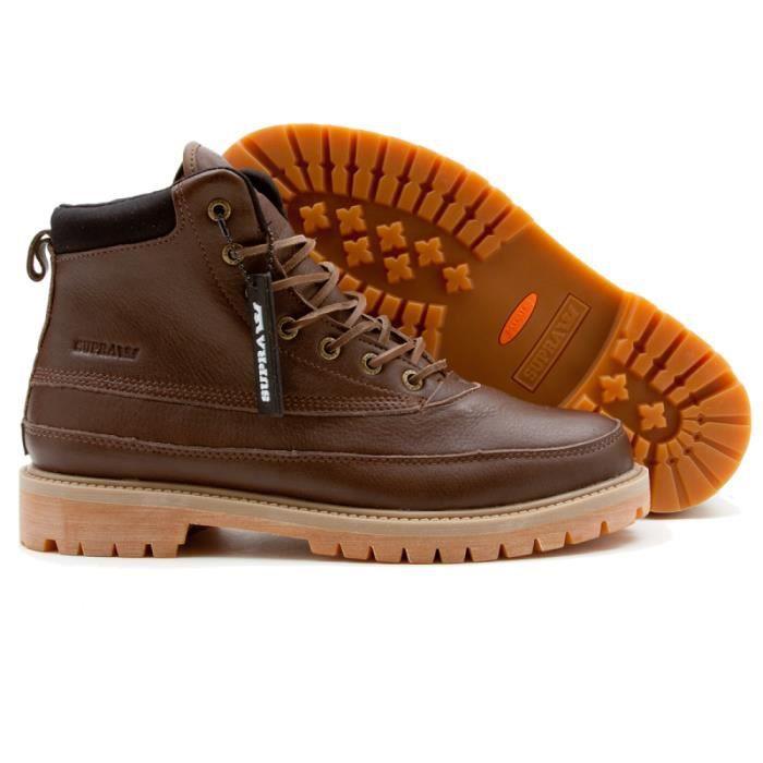 BASKET Shoes SUPRA DOUGLAS BROWN FG WAT...