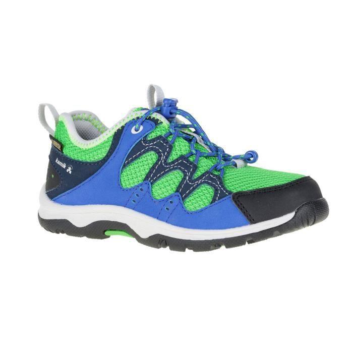 Kamik Sherpa G - Chaussures - vert/bleu